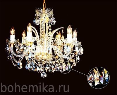 Люстра Bydzov 4013 06/1HK-669SW - фото 10968