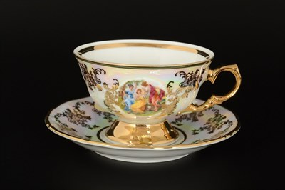 Чайные пары Мадонна (6 персон, 12 предметов) Шапо Мадонна - фото 10996