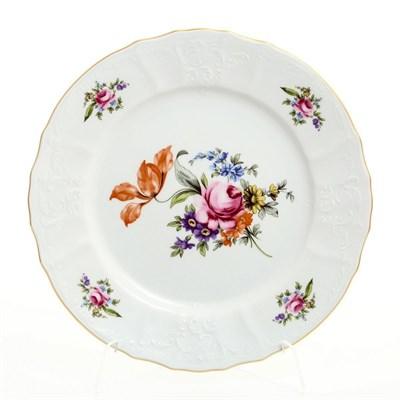 Набор десертных тарелок Полевой цветок 19 см (6 штук) - фото 11000