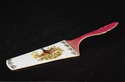 Лопатка для торта 24 см Queen's Crown Охота красная - фото 11013