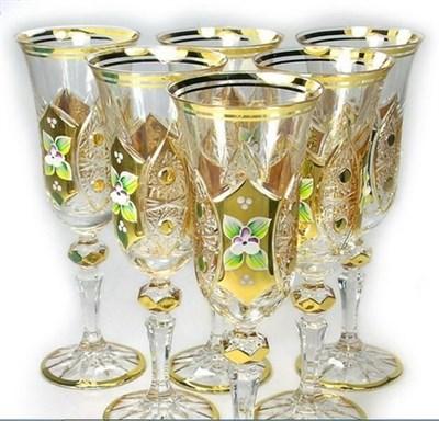 Фужеры для шампанского 6 штук 190 мл - фото 11081