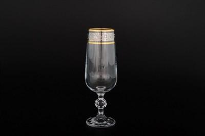 Фужеры для шампанского Клаудиа Панто (6 штук по 280 мл) - фото 11119