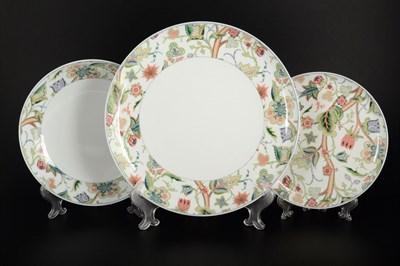Набор тарелок Thun Том Лесной узор 18 предметов - фото 11128