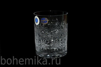 Хрустальные бокалы для виски, 6 штук по 300 мл - фото 11154