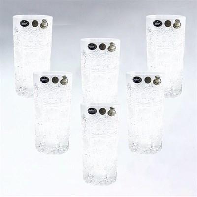 Хрустальные стаканы для сока, 6 штук по 400 мл - фото 11156