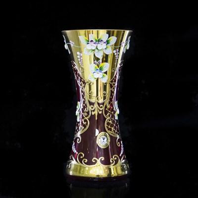 Ваза 22 см Lux (лепка гранат) - фото 11315