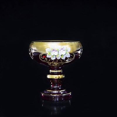 Вазочка для варенья 15 см (лепка гранат) - фото 11318