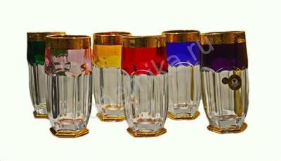 """Набор стаканов для сока """"Safari color new"""" (6 штук) - фото 11367"""