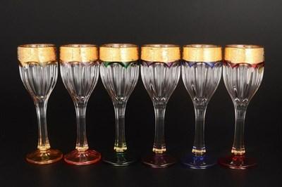 """Набор рюмок для водки """"Safari color new"""" (6 штук) - фото 11373"""