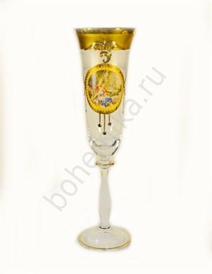 Набор бокалов для шампанского Excluzive Ренесанс (6 штук) - фото 11384