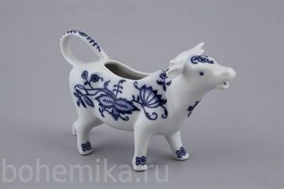 """Молочник """"Коровка"""" (синий лук) - фото 11419"""