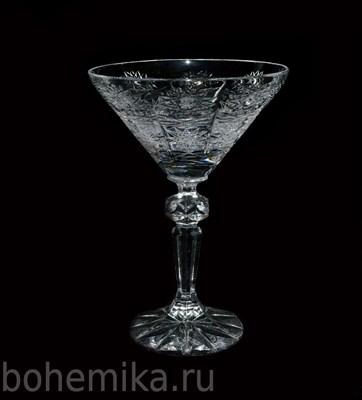 Набор бокалов для мартини, хрусталь (6 штук) - фото 11427