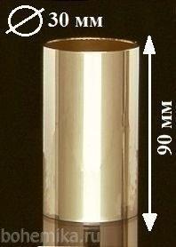 Металлический стаканчик (плафон) для люстры 90 мм - фото 11595