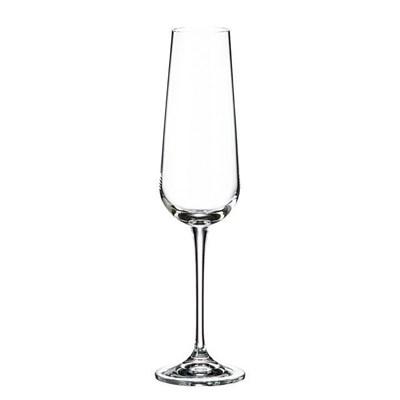 Набор фужеров для шампанского Crystalite Bohemia Ardea/Amundsen 220 мл (6 шт) - фото 14493