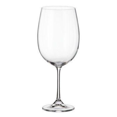 Набор бокалов для вина Crystalite Bohemia Milvus/Barbara 640 мл (6 шт) - фото 14561