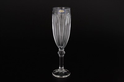 Фужер для шампанского Crystalite Bohemia Rubin 160мл - фото 24670
