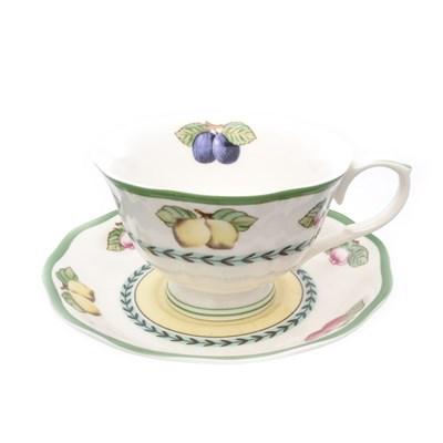 Набор чайных пар Royal Classics 220мл (6 пар) - фото 24982