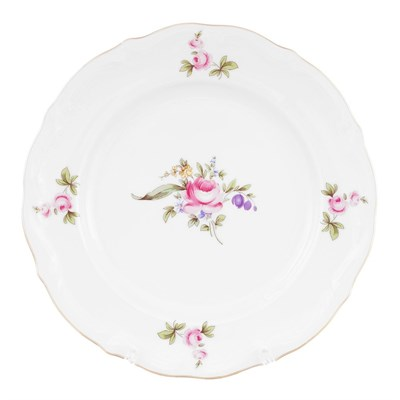 Набор тарелок плоских 19 см Repast Мейсенский букет( 6 шт) - фото 24991