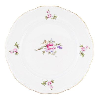 Набор тарелок плоских 21 см Repast Мейсенский букет( 6 шт) - фото 24992