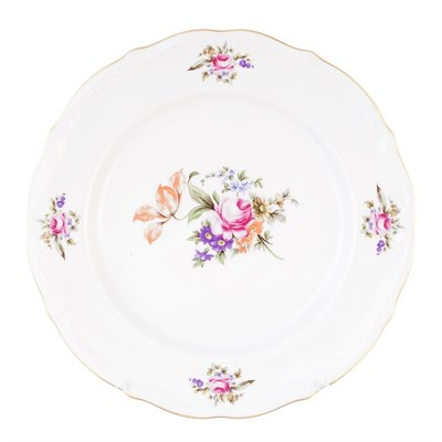 Набор тарелок плоских 25 см Repast Мейсенский букет( 6 шт) - фото 24993
