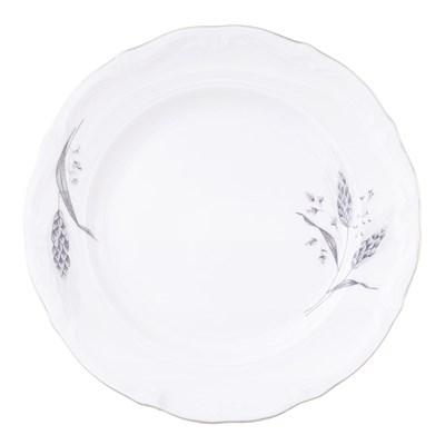 Набор плоских тарелок 19 см Repast Серебряные колосья (6 шт) - фото 25006