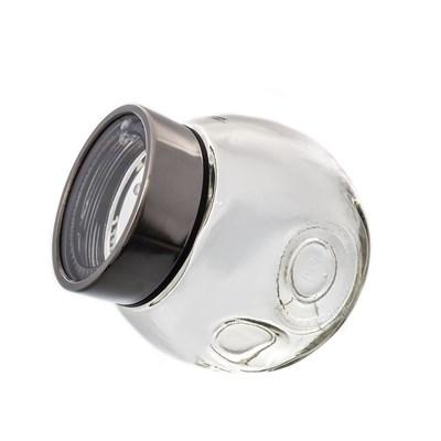 Банка для сыпучих продуктов металлической крышкой royal classics - фото 25020