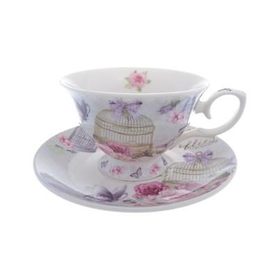 Набор чашка с блюдцем royal classics 2 предмета - фото 25103