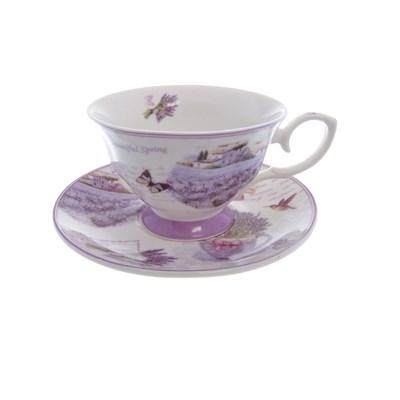 Набор чашка с блюдцем royal classics 2 предмета - фото 25105