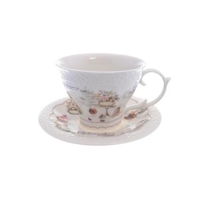 Набор чашка с блюдцем royal classics 2 предмета - фото 25106