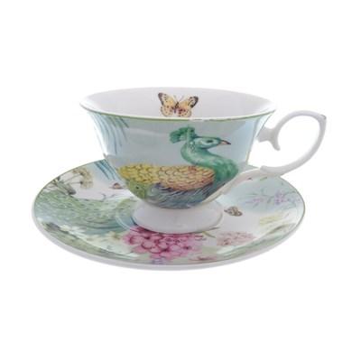 Набор чашка с блюдцем royal classics 2 предмета - фото 25107