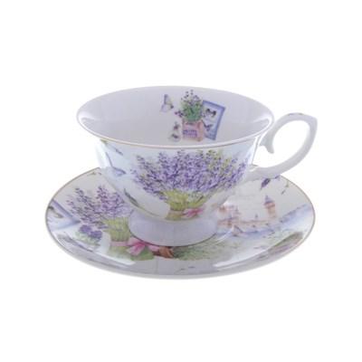 Набор чашка с блюдцем royal classics 2 предмета - фото 25108
