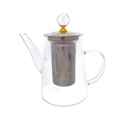 Чайник с металлическим ситом royal classics - фото 25167
