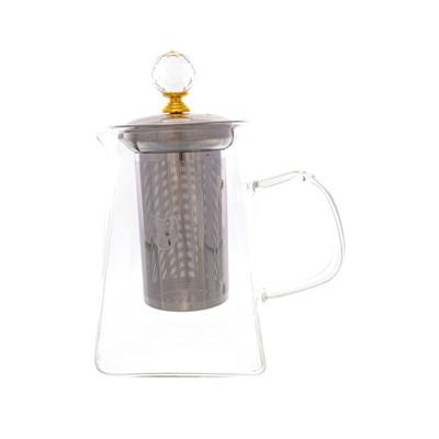 Чайник с металлическим ситом royal classics 800 мл - фото 25168