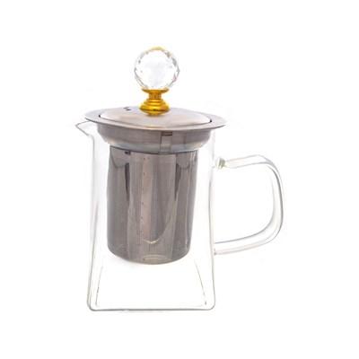 Чайник с металлическим ситом royal classics - фото 25169