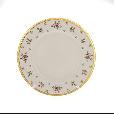 Блюдо круглое Falkenporzellan Constanza cream - Primavera Gold 32 см - фото 28294