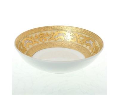 Розетка Falkenporzellan Alena 3D Creme Gold 10 см(1 шт) - фото 28560