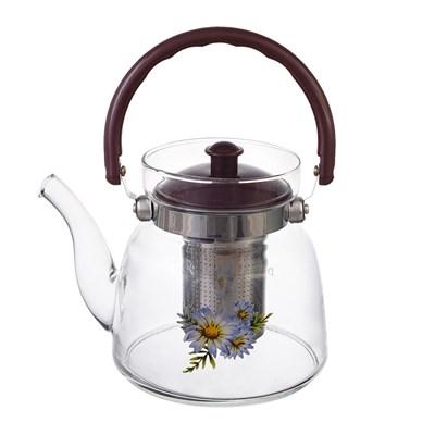 Чайник с металлическим ситом royal classics - фото 28728