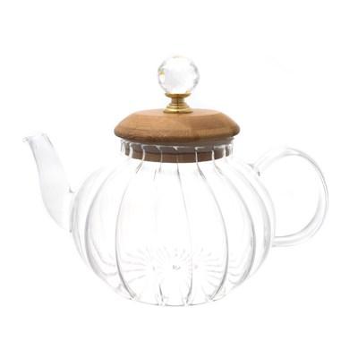 Чайник с бамбуковой крышкой royal classics - фото 32195