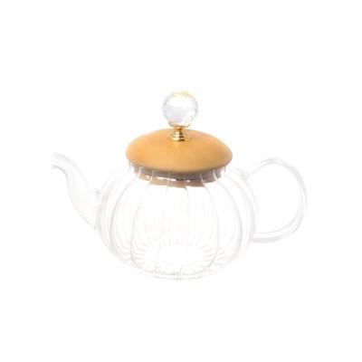 Чайник с бамбуковой крышкой royal classics - фото 32196