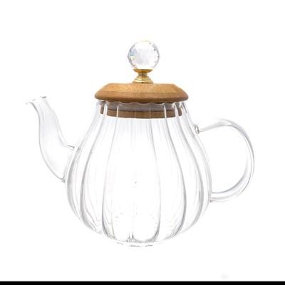 Чайник с бамбуковой крышкой royal classics - фото 32199