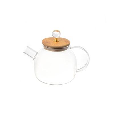 Чайник с бамбуковой крышкой royal classics - фото 32200