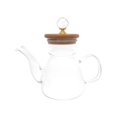 Чайник с бамбуковой крышкой royal classics - фото 32203