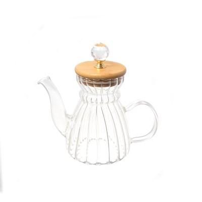 Чайник с бамбуковой крышкой royal classics - фото 32204