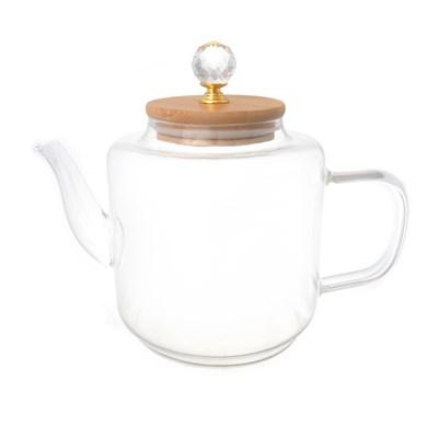 Чайник с бамбуковой крышкой royal classics - фото 32206