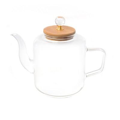 Чайник с бамбуковой крышкой royal classics - фото 32207