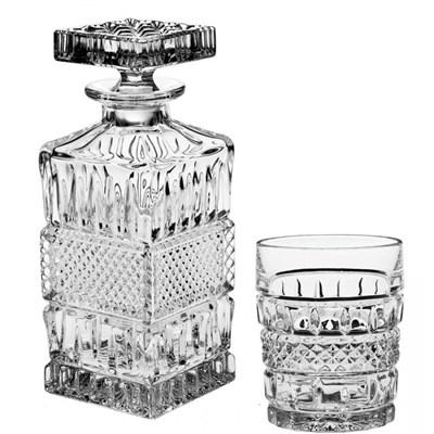 Набор для виски, 1 штоф 700 мл + 6 стаканов (240 мл) BRITTANY - фото 38777