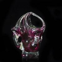 Корзинка для конфет розовая 25 см