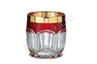 Бокалы для виски Сафари гранат, 6 штук по 280 мл