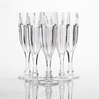 Фужеры для шампанского SAFARI без декора, 6 штук по 180 мл
