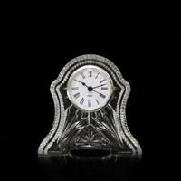 Хрустальные часы (средние) 13 см
